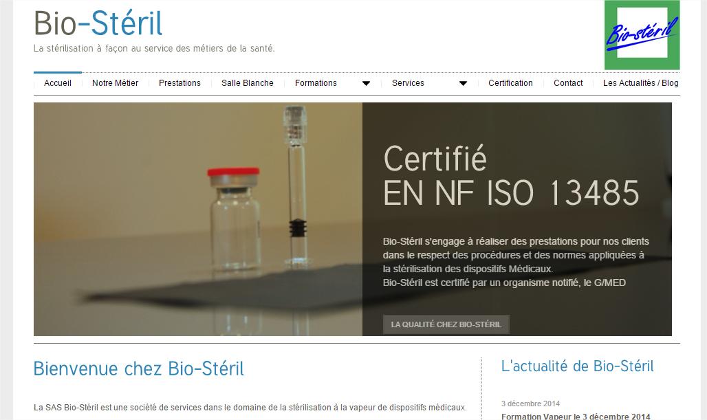 stérilisation à la vapeur des liquides des instruments médicaux