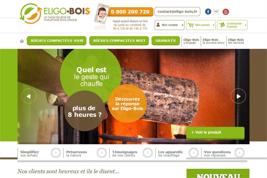 Fournisseur de bois de chauffage compressé densifié Eligo bois FranceLink # Fournisseur De Bois De Chauffage