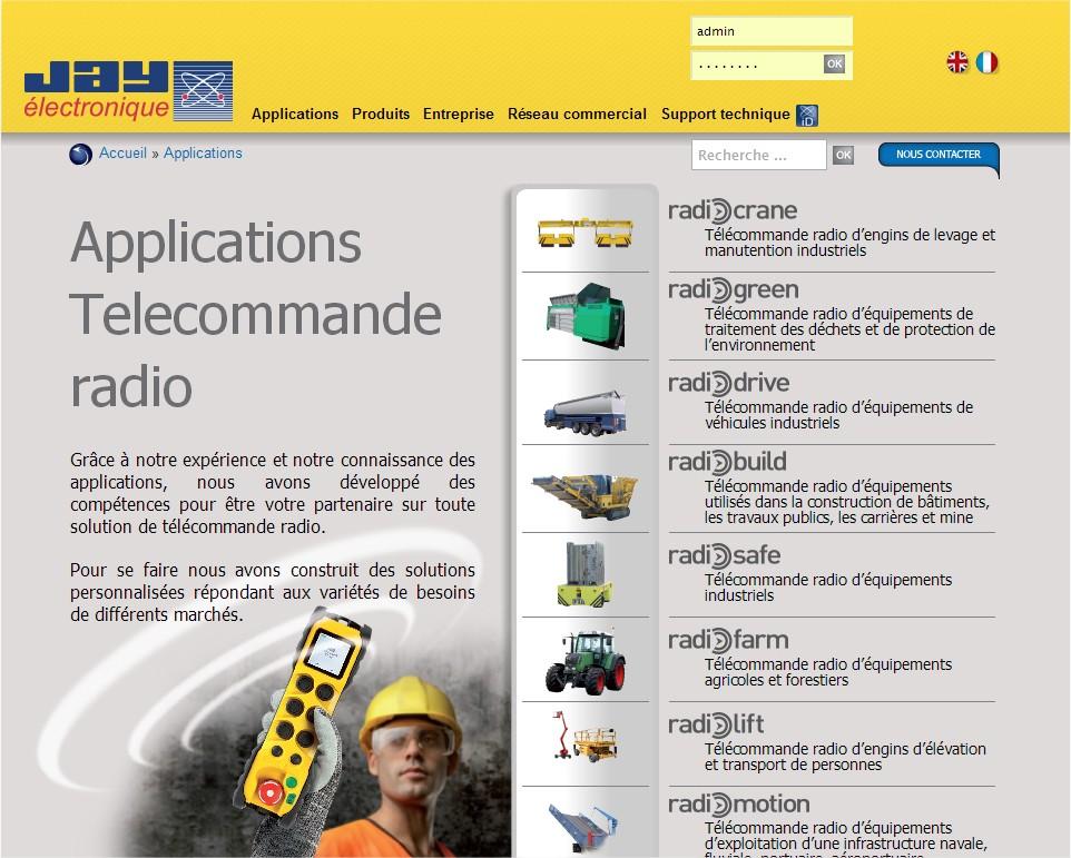 telecommande rf